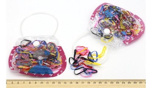 Резинки силиконовые 12-972Темн