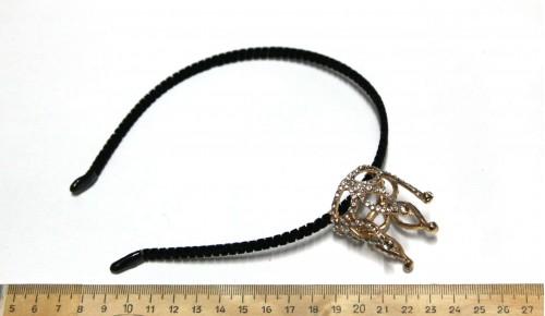 Корона на ободке 07-91-3Зол