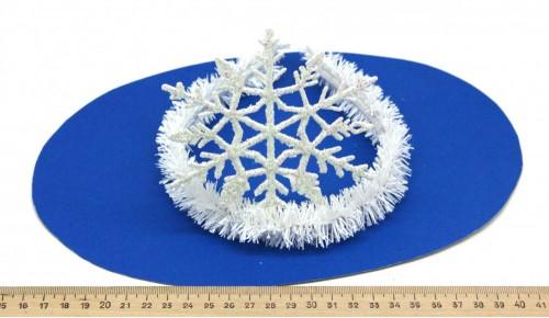 Ободок Снежинка 3