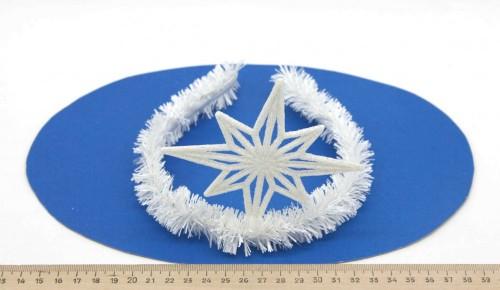 Ободок Снежинка 2