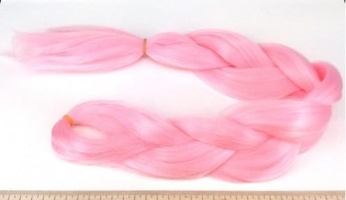 Канекалон Одноцвет - Розовый