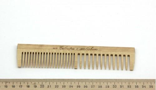 Расческа деревянная Вид 1
