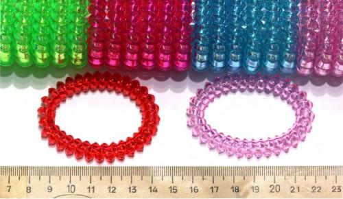 Резинки силиконовые 01-666Прозр
