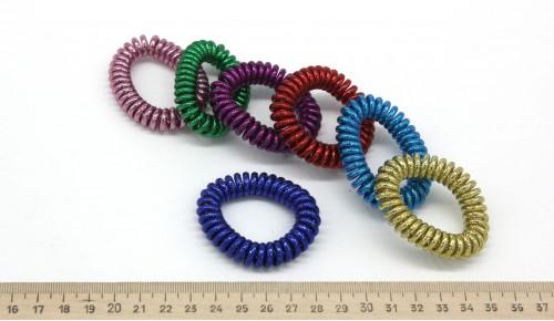 Резинки силиконовые 07-134Блеск