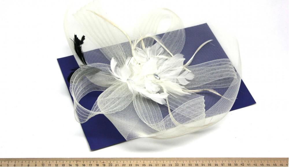 Мини-шляпка W05-172Бел