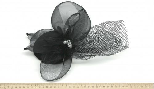 Мини-шляпка W05-170Черн