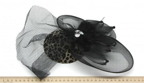 Мини-шляпка W05-170Лео
