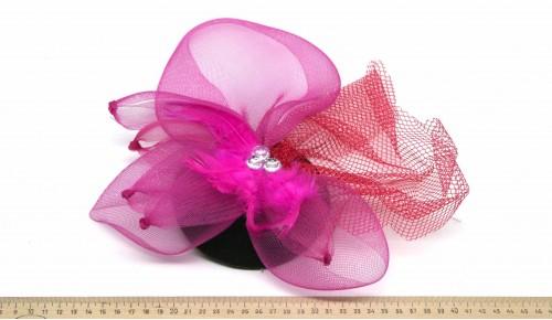 Мини-шляпка W05-170Роз