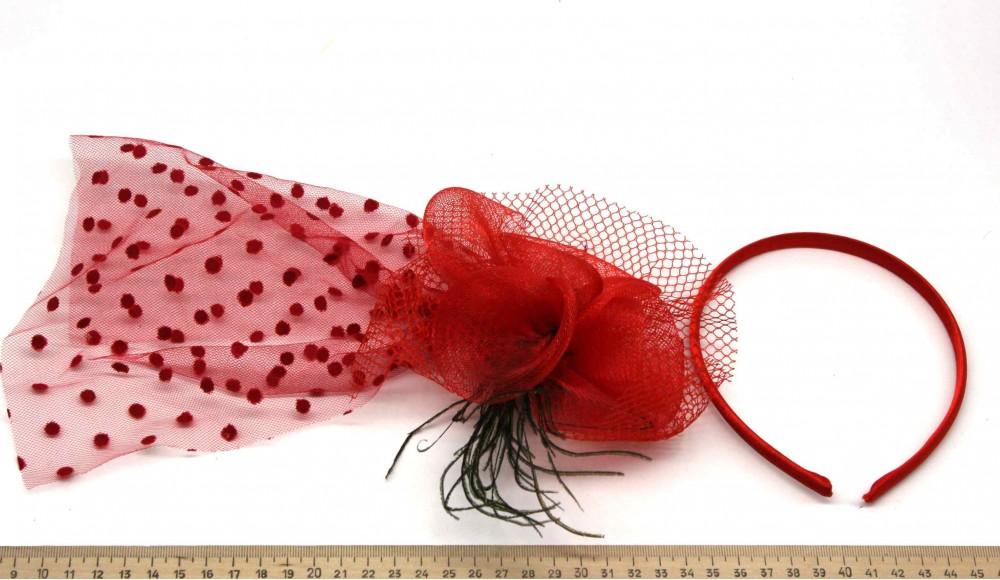 Мини-шляпка W05-154Кр