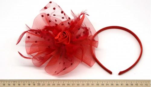 Мини-шляпка W05-153Кр
