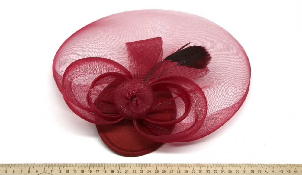 Мини-шляпка W05-6Кр