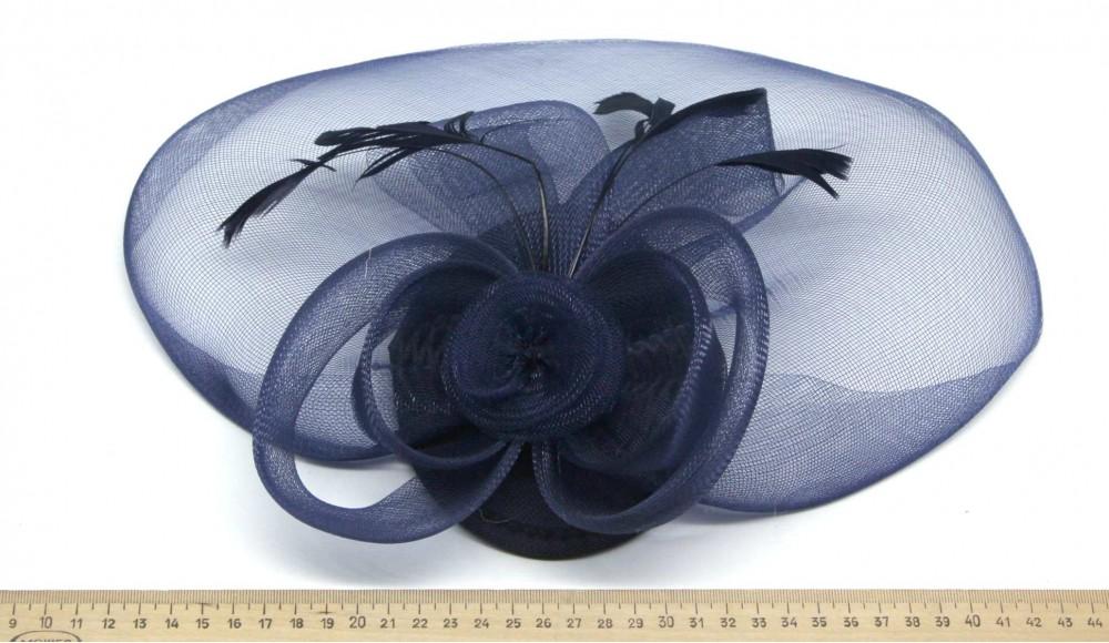 Мини-шляпка W05-6Син