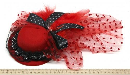 Мини-шляпка W05-184Кр